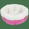 Peanut Cuddle Cup - Pink, 20 x 20 x 8